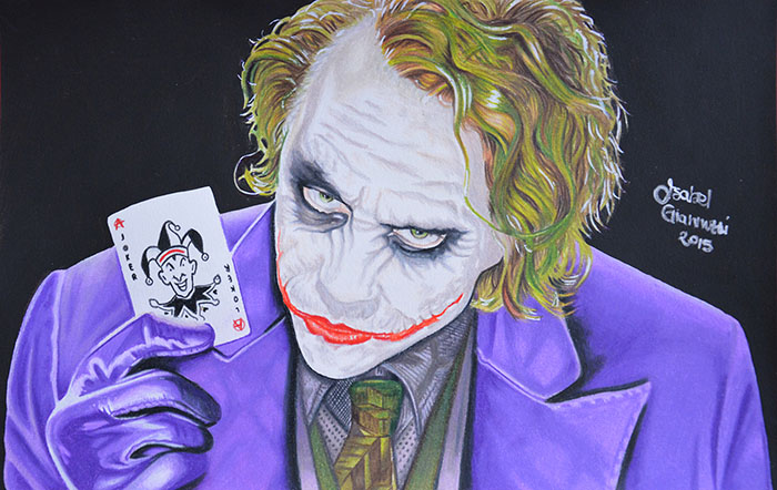 Joker Disegno a Matita
