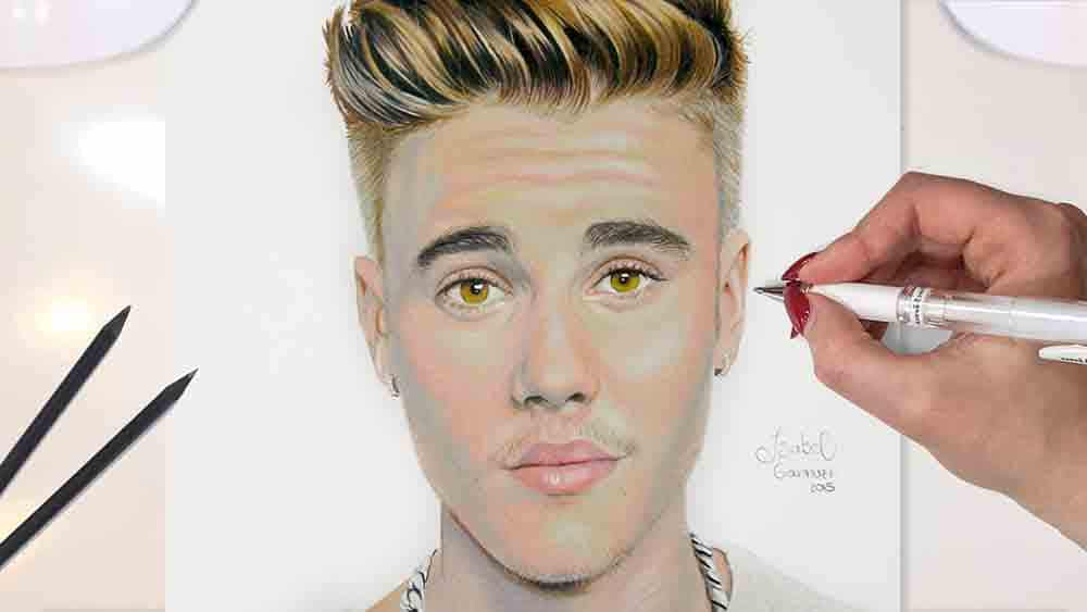 Drawing Justin Bieber