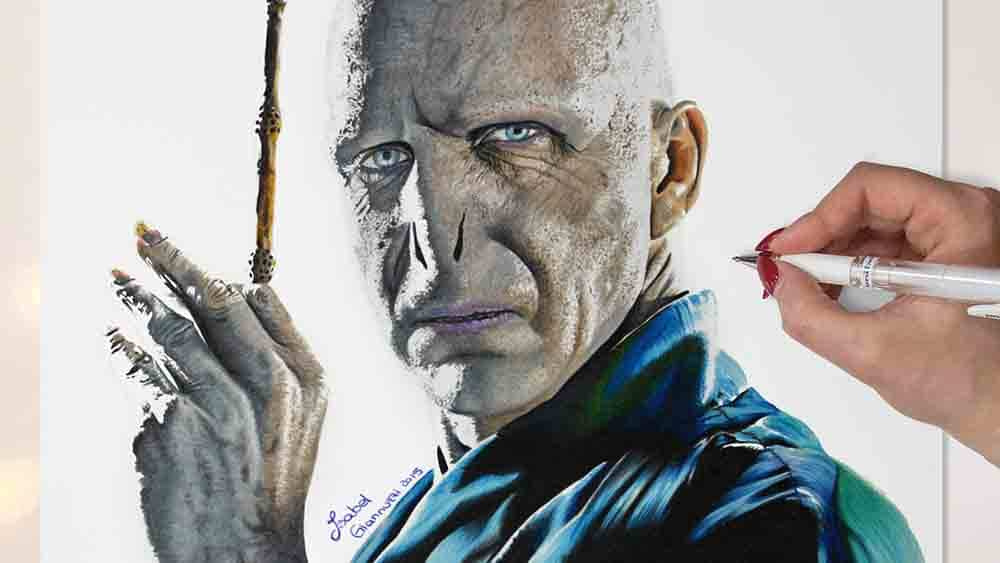 Drawing Voldemort Harry Potter