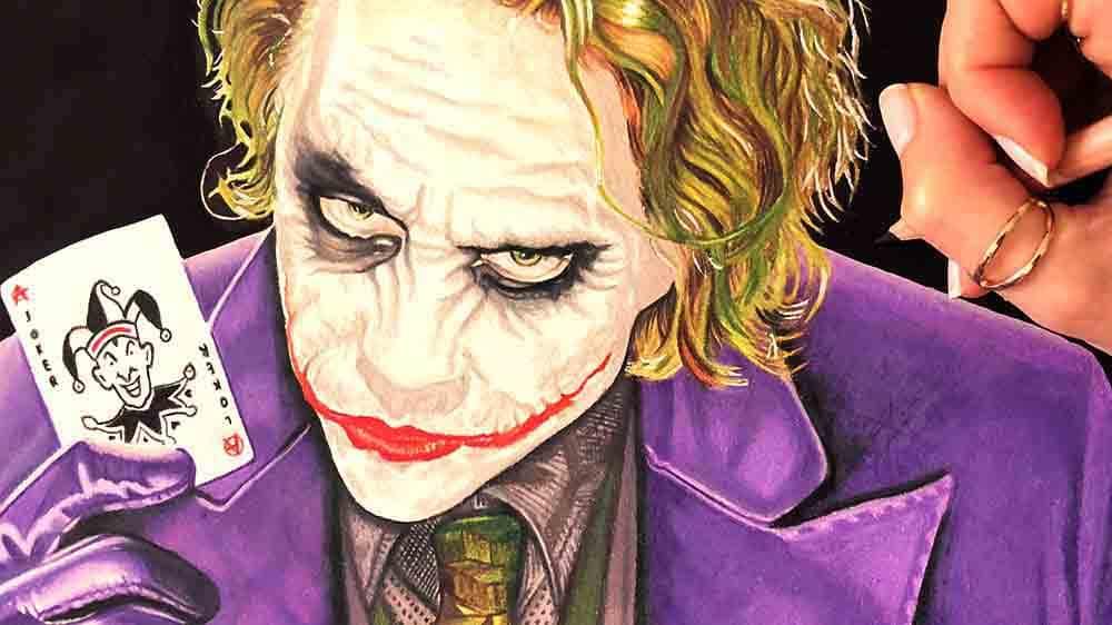 drawing joker