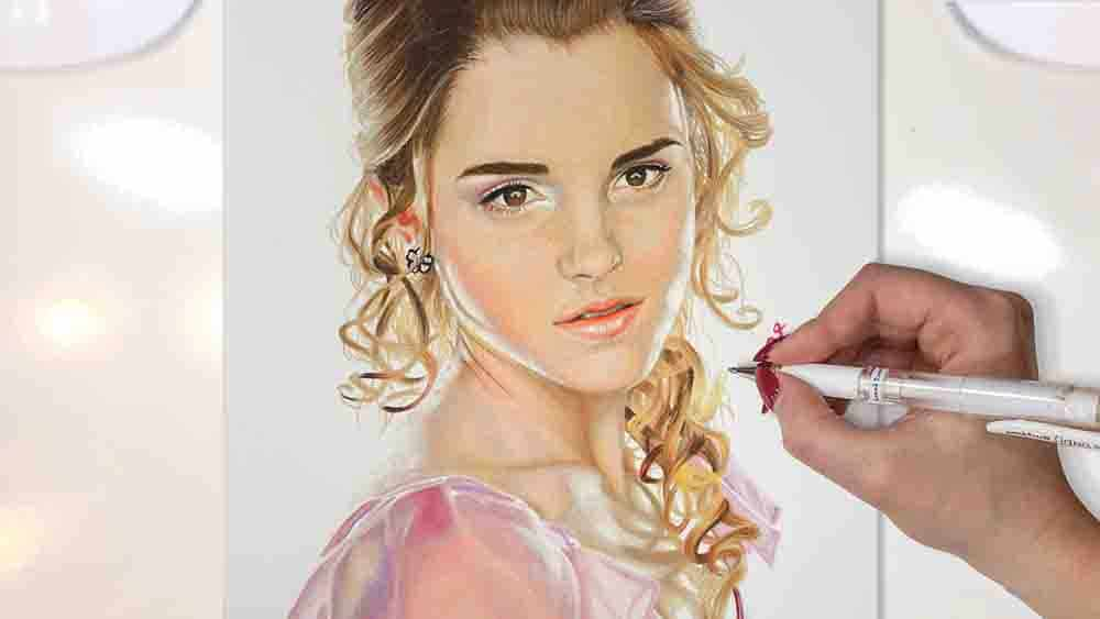 drawing hermione granger harry potter