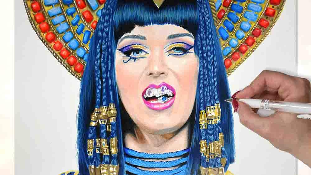drawing katy perry