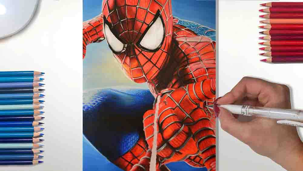 Spiderman Drawing video