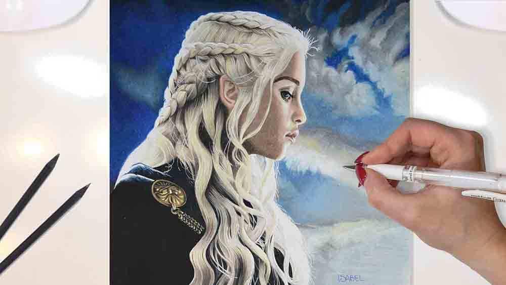 Disegno Daenerys Targaryen