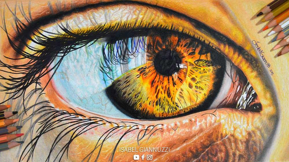 Realistic Eye Drawing