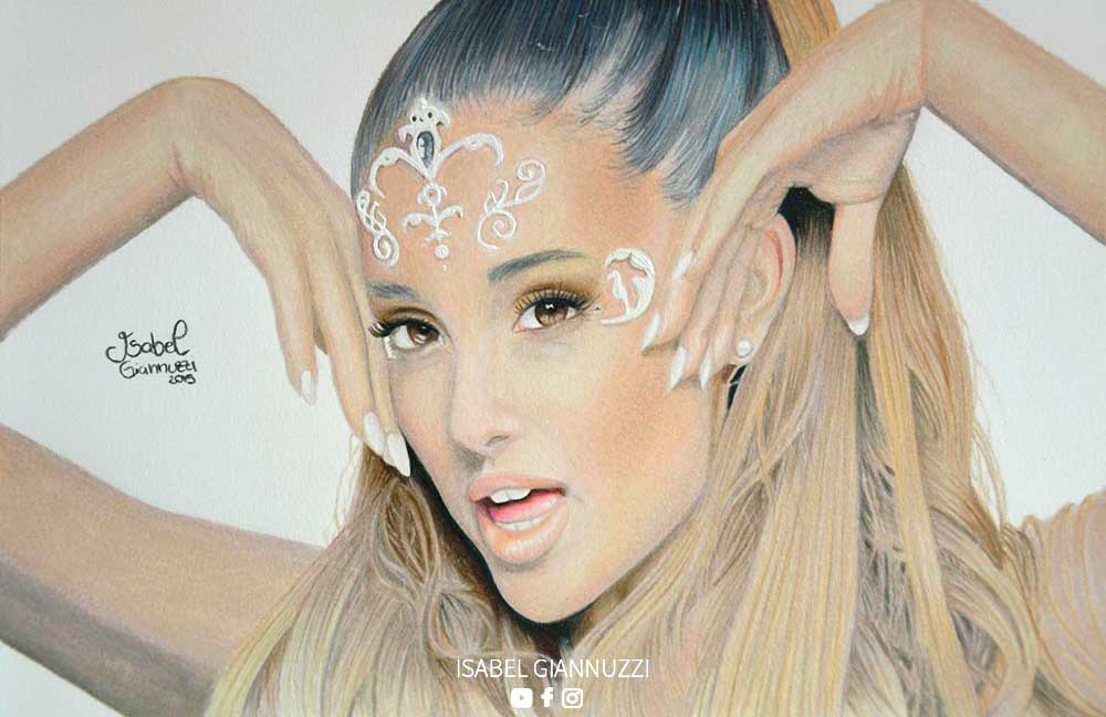 Drawing Ariana Grande Art