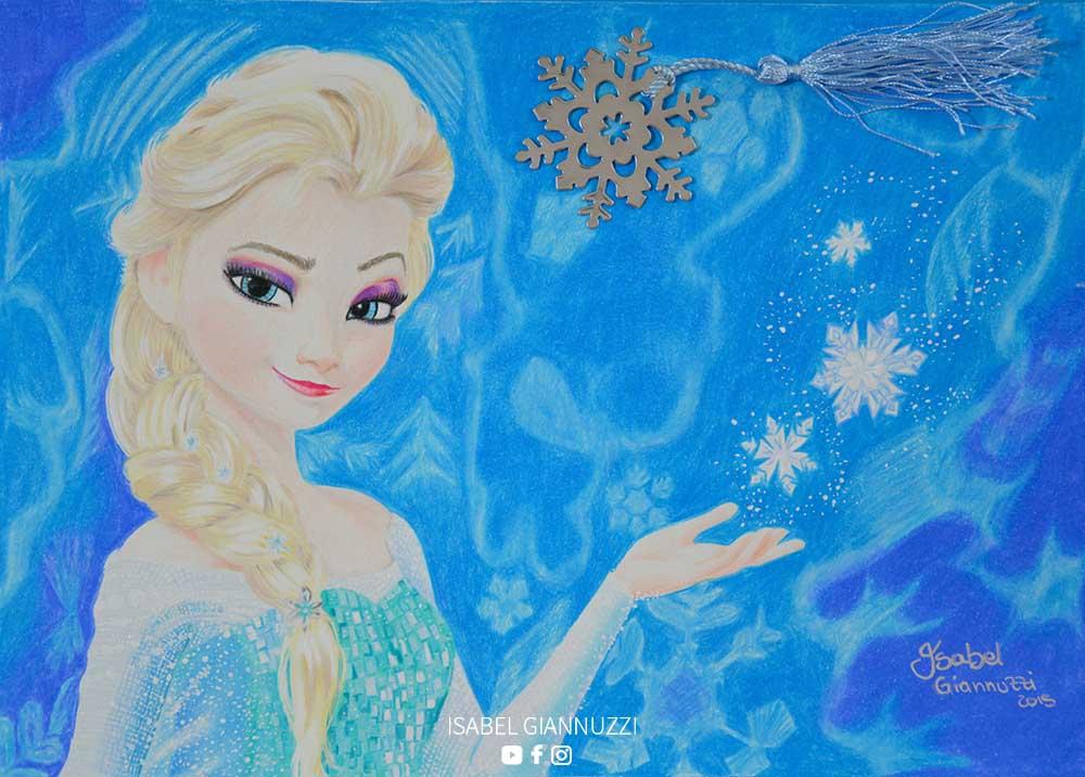 Disegno Elsa Frozen Disney