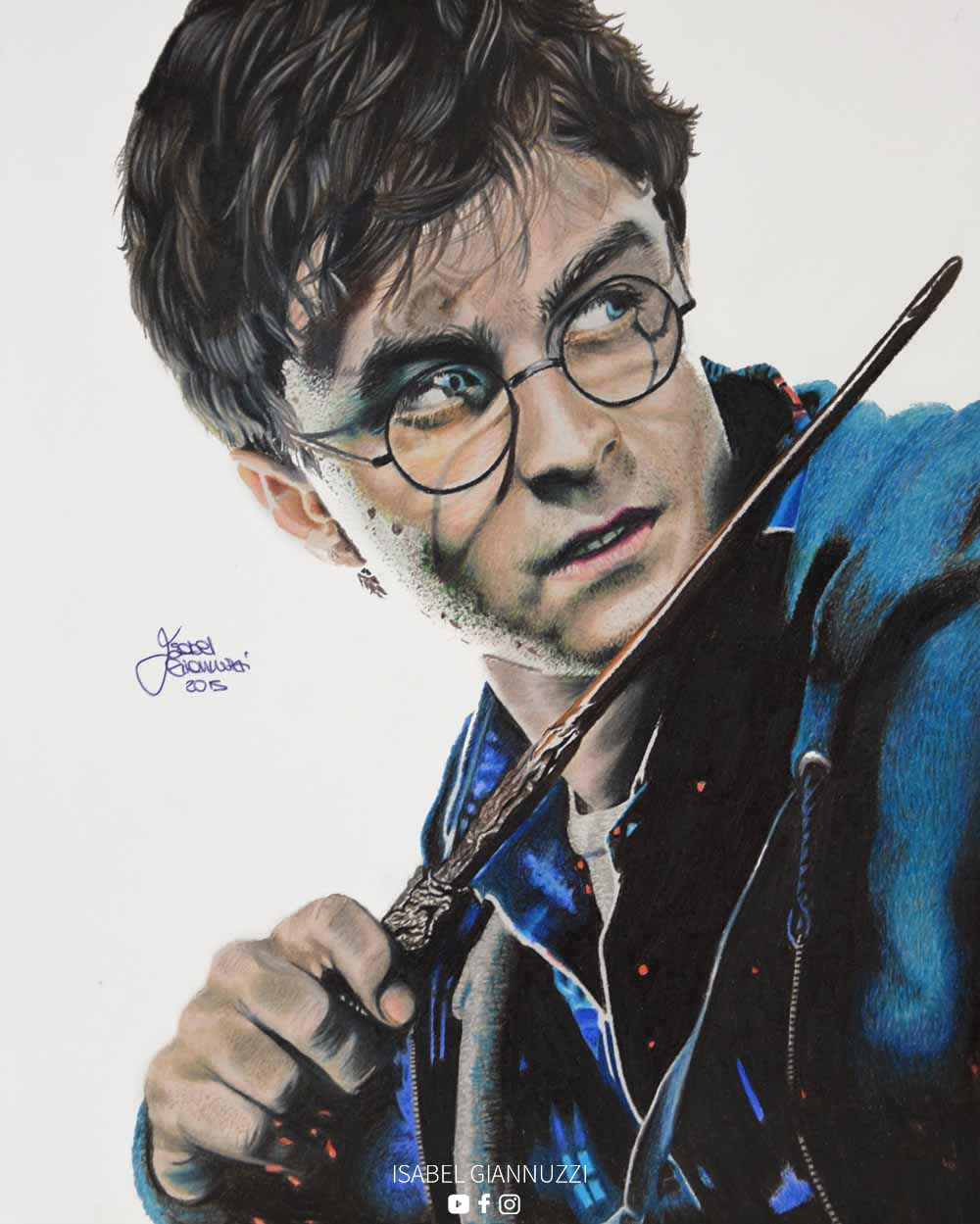 Drawing Harry Potter Art