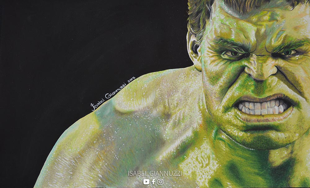 Drawing Hulk Fan Art