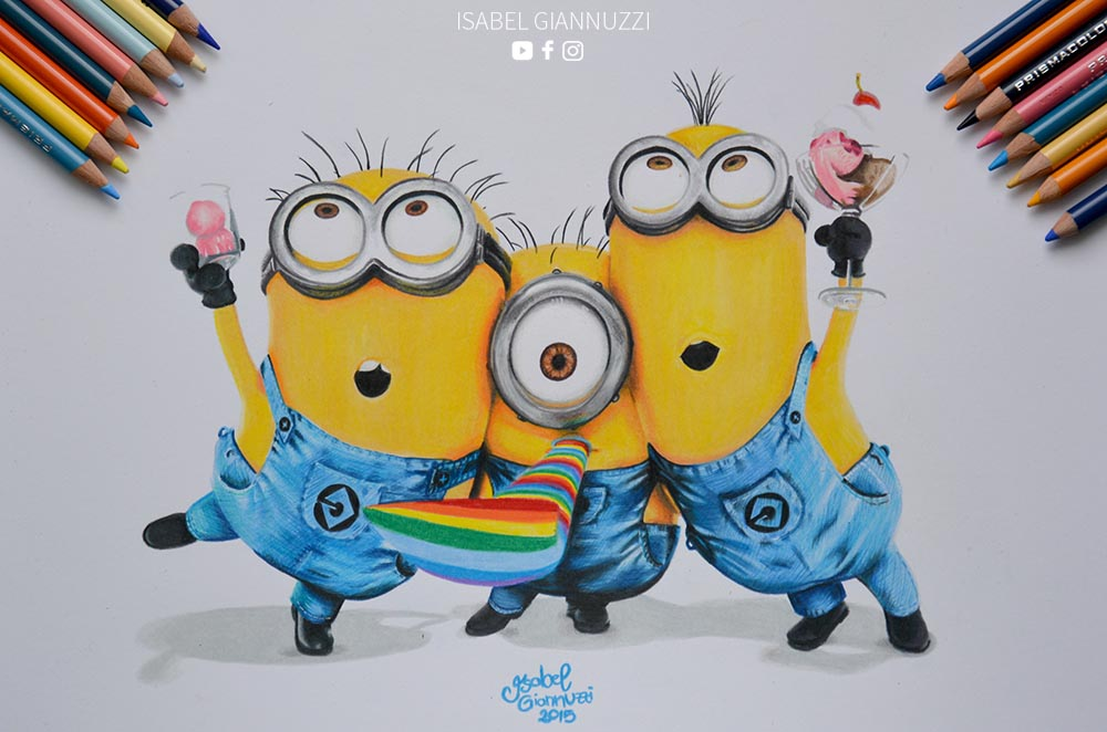 Drawing Minions Art