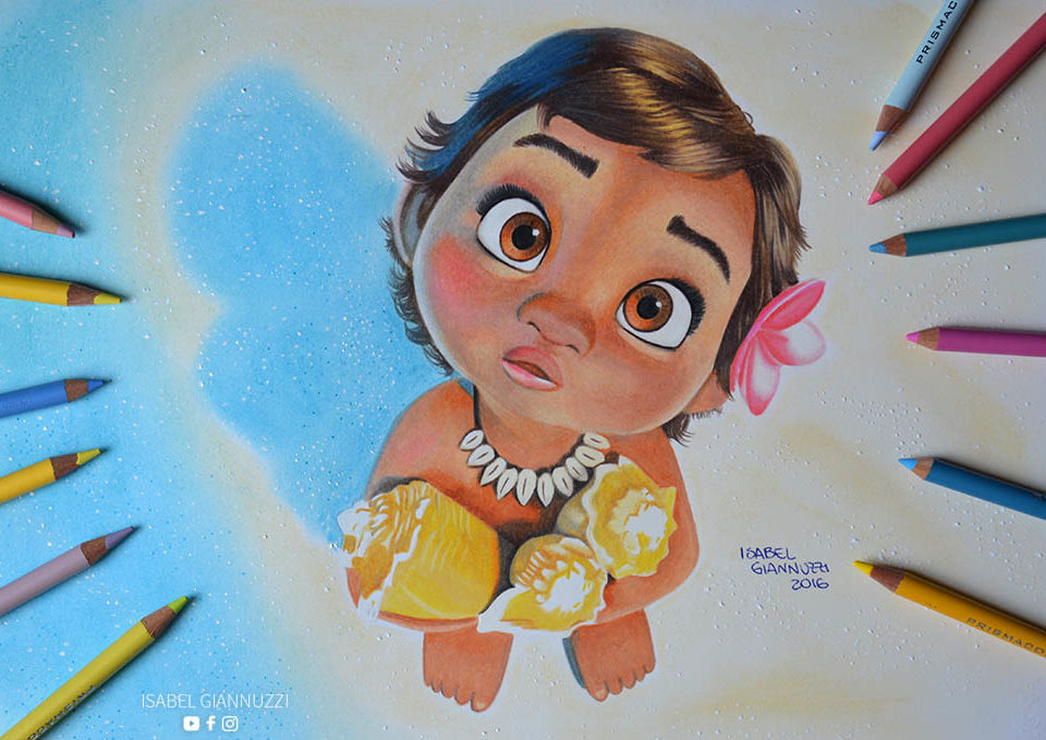 Drawing Moana Disney