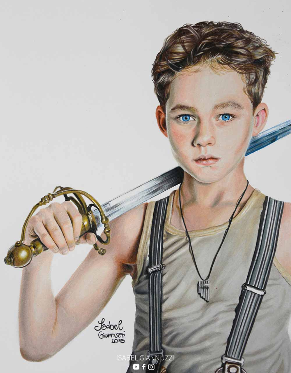 Disegno Peter Pan Fan Art