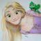 Disegno Rapunzel