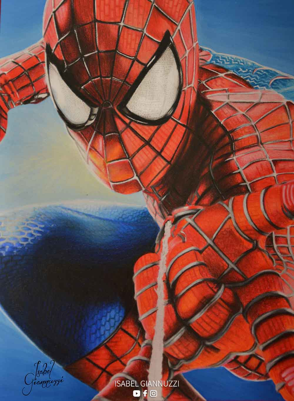 Drawing Spiderman Art