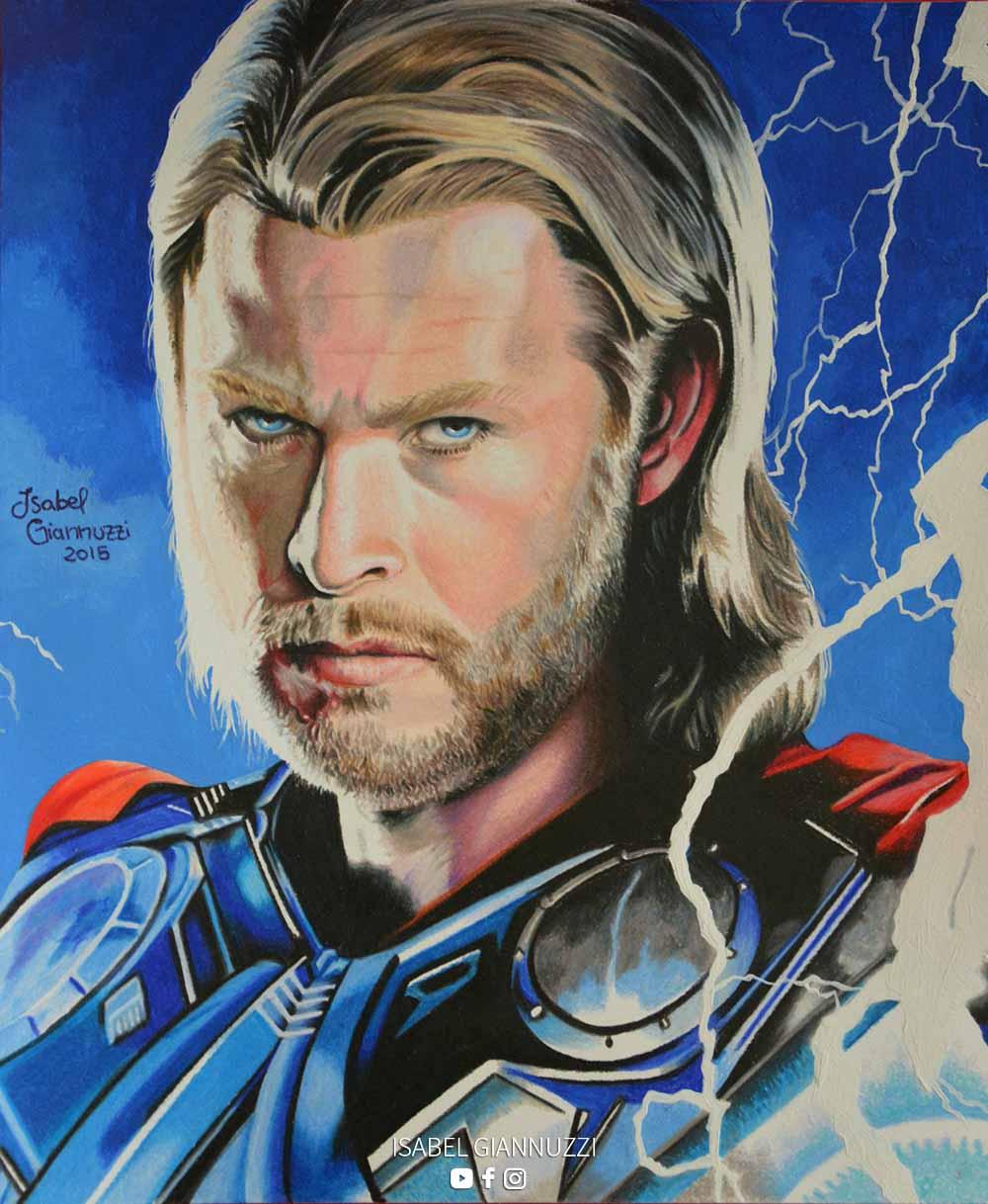 Drawing Thor Art