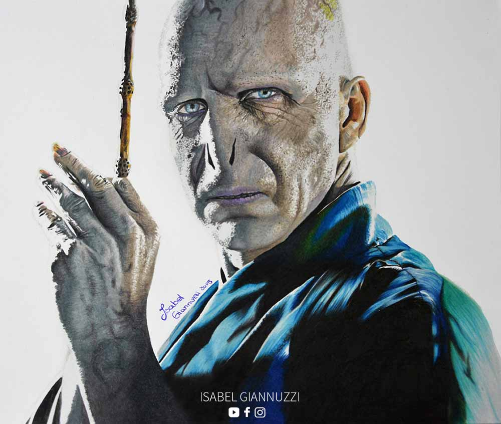Drawing Voldemort Art