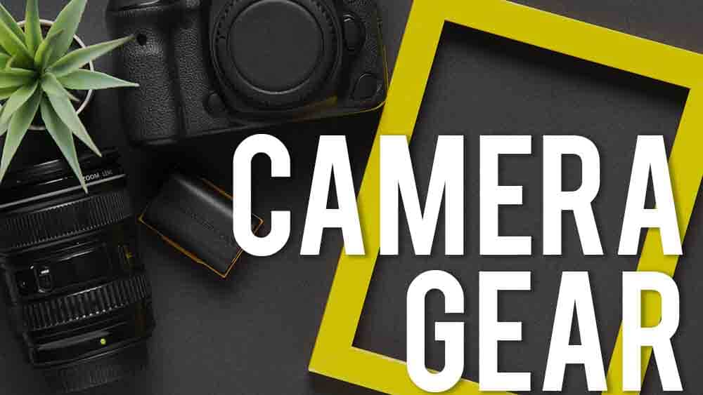 camera gear for youtube videos