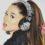 Ariana Grande Disegno Colorato